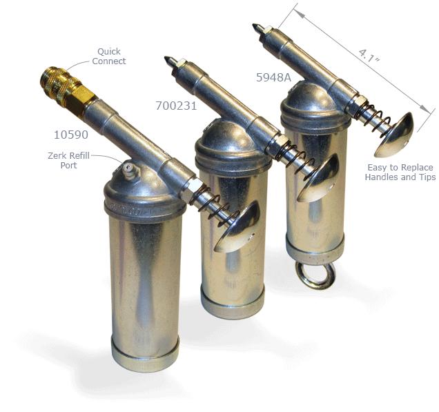 Dualco Push Type Utility Grease Guns